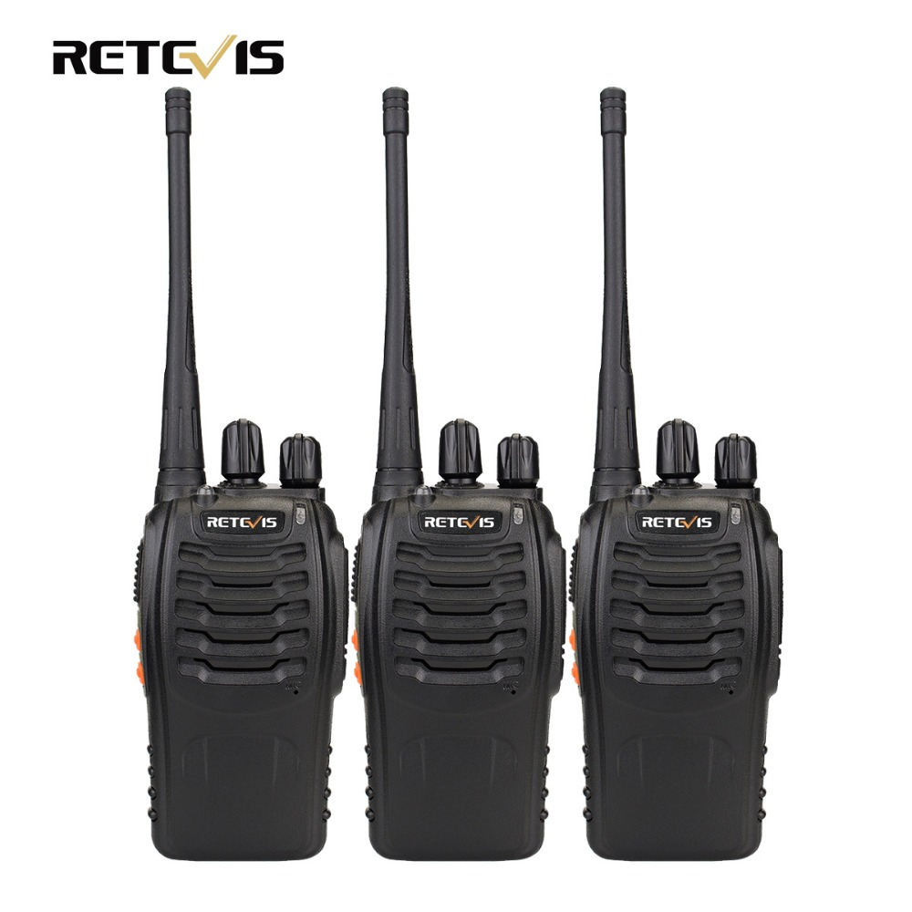 3 pz Walkie Talkie Retevis H777 16CH UHF 400-470 mhz Ham Radio Transceiver HF 2 Way Radio Communicator a portata di mano A9104