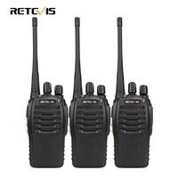 2pcs New Walkie Talkie 5W 16CH UHF BF 888S Two Way Radio Interphone Transceiver Mobile Portable