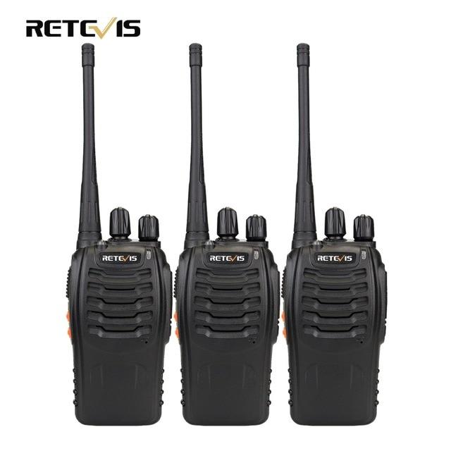 3pcs Walkie Talkie Retevis H777 16CH UHF 400-470MHz Ham Radio HF Transceiver 2 Way Radio Communicator Handy A9104