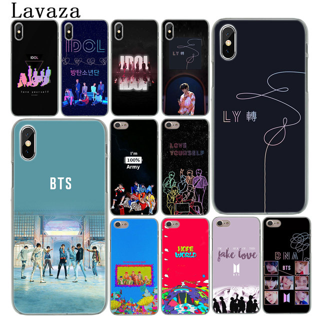 4f4572b354 US $1.91 25% OFF|BTS Yourself Fake Love Bangtan Boys IDOL Hard Cover Case  for Apple iPhone X XS Max XR 6 6S 7 8 Plus 5 5S SE 10 Kim Phone Cases-in ...