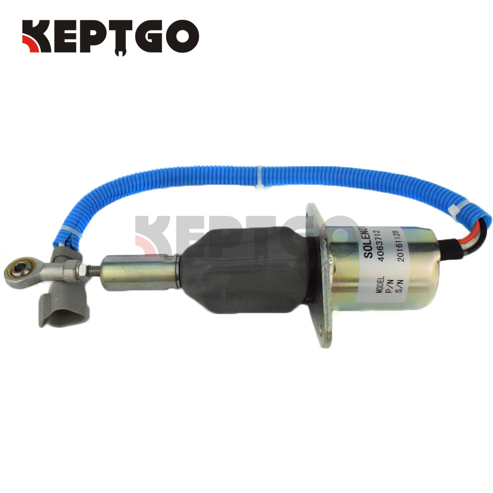 4063712, SA-5030-24, 6743-81-9141, 600-815-9150, 6742-01-2310 24V Fuel Shutoff Solenoid Valve For Komatsu PC300-7 PC360-7 цена