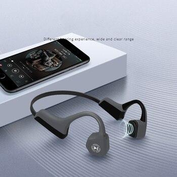 Bluetooth 4.1 Wireless Earphone Sport Headphones Bone Conduction with Mic Handsfree Headsets Waterproof dust-proof Sweat proof