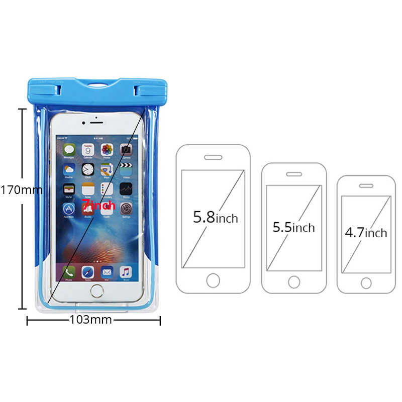 los angeles 83cf3 653ab Waterproof Case For Xiaomi Redmi Note 5 Pro 5A 5 plus 4X Note 4 Global  Version Smartphone Case Underwater Cover Swimming Dry Bag