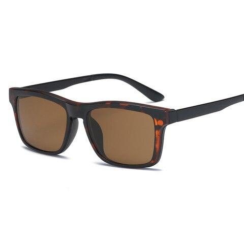 samjune Clip on Sunglasses clip on glasses square Lens Men Women mirror clip Sun Glasses Night Vision Driving sunglasses for men Islamabad