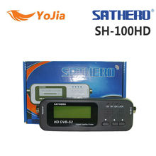 1 pc Origine Sathero SH-100HD signal numérique finder mètre satellite DVBS/S2 avec USB 2.0 livraison gratuite