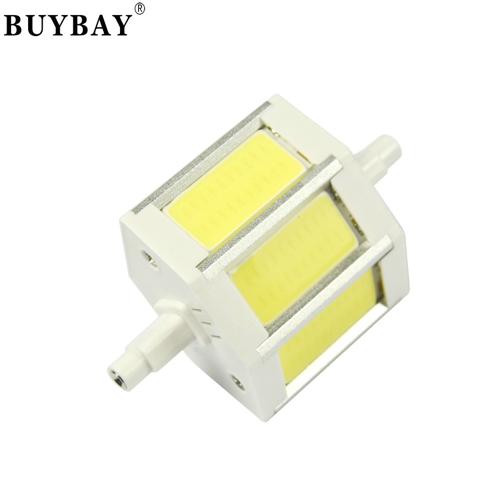 1X 10W R7S COB LED Lamp 78mm LED R7S Light Bulb 85-265V Replace Halogen Light spotlight r7s super bright 48hours delivery new arrival no flicker cob r7s led lamp 10w r7s 78mm led r7s light bulb 85 265v replace halogen spot light r7s 78 energy saving