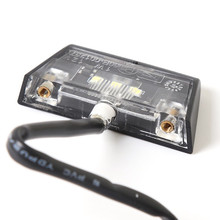 General Motorcycle Modified Parts Back License Plate Frame Lighting High-brightness 3LED
