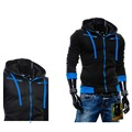 New Arrive Men's Slim Fit Top Jumpers Casual Hoodies Coat Jacket Outwear Sweatshirt