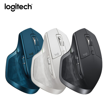 Logitech MX Master 2S Rechargeable Ergonomic Wireless Bluetooth Unifying Dual Mode Mouse 4000DPI for Business Computer