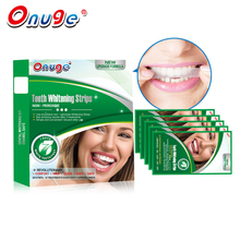 Onuge 3D New Dental Whitening System 20 Pouches Teeth Whitening Strips Gel Health Oral Care PRO 7 Days Quick White Remove Yellow