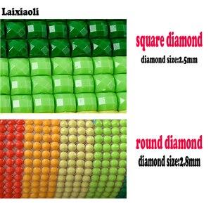 Image 5 - Peinture diamant lys et fleurs, image modulaire, broderie complète 5D, perles carrées ou rondes, bricolage même, mosaïque, strass, décoration, 5 pièces