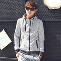 2016 Spring New Casual Hooded Jaqueta Masculina Trendy Quality Erkek Sweatshirt
