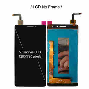 """Image 3 - For Lenovo Vibe P1m LCD P1ma40 P1mc50 Display With Frame Screen Touch Sensor Digitizer Assembly For LENOVO P1m Display 5.0"""""""
