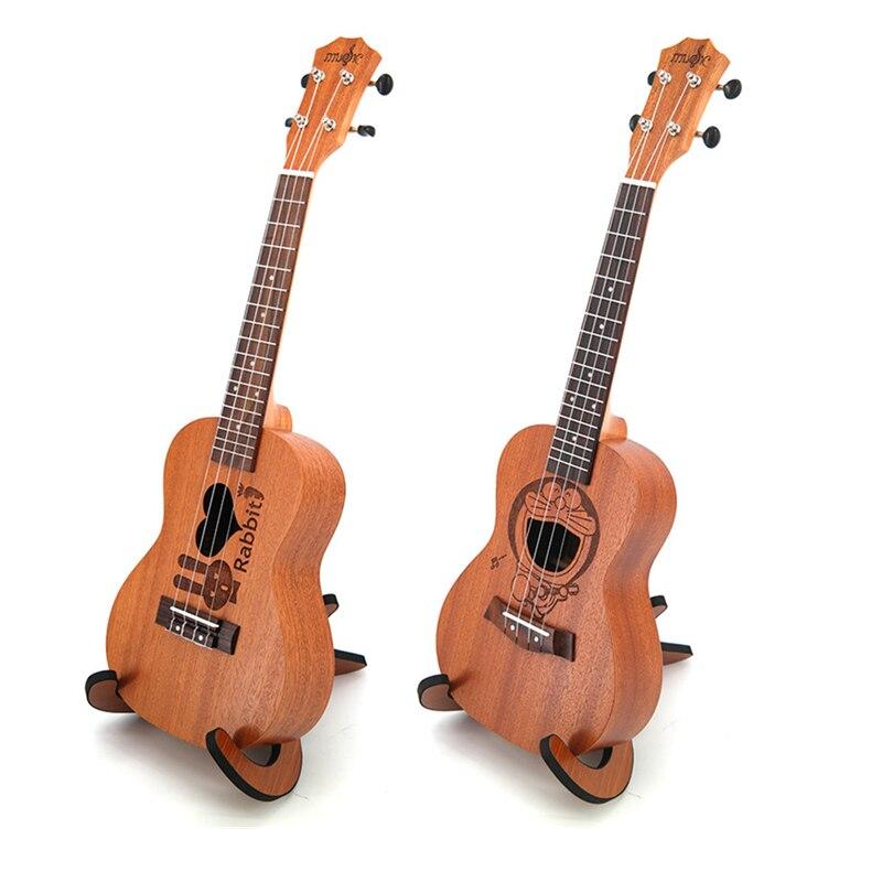 23 pouces ukulélé 4 Instruments à cordes Mini guitare hawaïenne 6 types de dessins animés modèles enfants cadeau Sapele Ukelele Instruments de musique