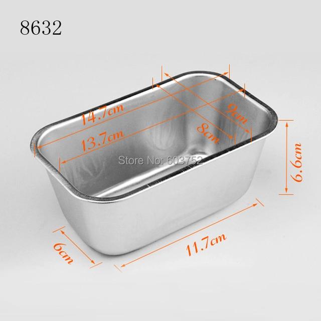 BAKEST  6pcs per lot 5inch Small Size Deep Aluminum Alloy Cake Baking Mold Fondant Bread Bakeware Tools