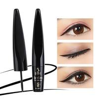Roller Wheel Long Lasting Waterproof Eyeliner Pen Fashion Professional Smudge-Proof Beauty Makeup Black Liquid Eye Liner Pencil Makeup