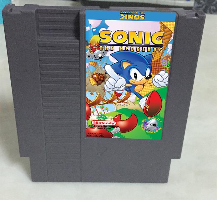Sonic the Hedgehog Game card 72pin 8 bit Game cartridge Drop shipping!