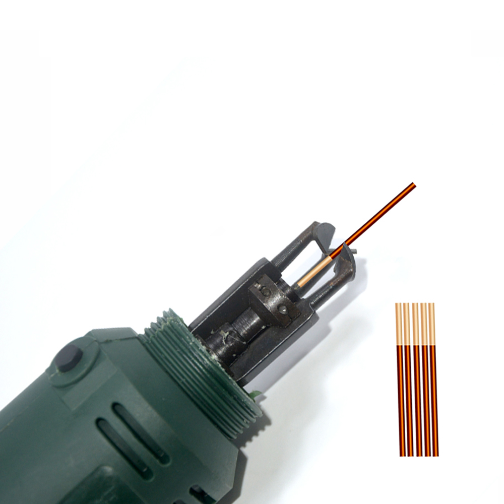 Enameled Wire Stripping Machine, Varnished Wire Stripper, Enameled Copper Wire Stripper DF-6 110V/220V Electric scraper paint