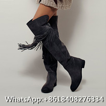 Thigh high boots low heel online shopping-the world largest thigh ...