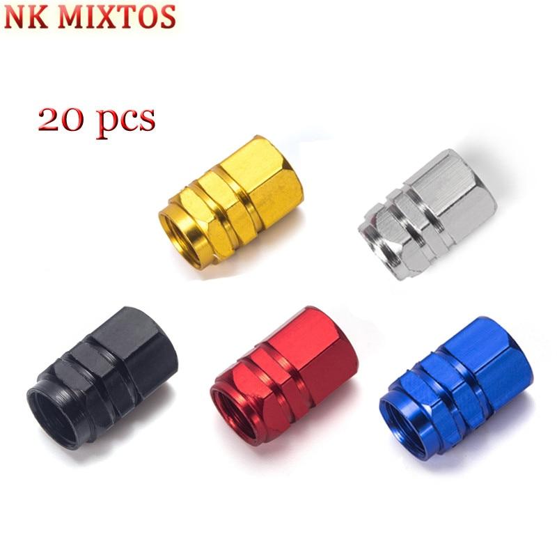 NK MIXTOS Tire Accessory Car Wheel Tires Valves Caps Pressure Cap Warning Decoration Nozzle Stem Air Covers Visual Tool Parts