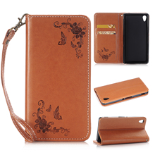 For Sony Xperia Z3 Case D6603 D6643 D6653 Case Luxury Flip PU Leather Cases Cover for Sony Z3 Phone Case with Card Holder Bag