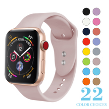 Soft Silicone Replacement Sport Band For 38mm Apple Watch Series1 2 42mm Wrist Bracelet Strap For iWatch Sports Edition MU SEN