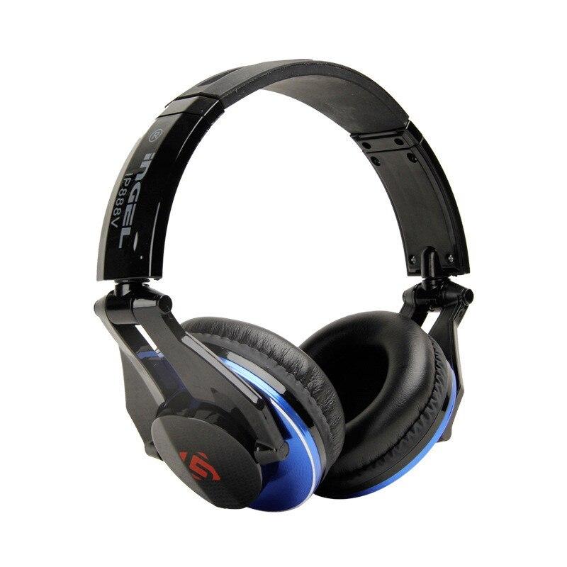 bilder für Neue Faltbare Bass HIFI Kopfhörer Gaming Headset Subwoofer Metall Kopfhörer mit Micorphone für Handy Gamer Xiaomi MP3 PS4