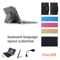 10 1 Inch UNIVERSAL Wireless Bluetooth Keyboard Case For Sony Xperia Z2 Tablet WiFi Keyboard Language