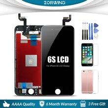 AAA + คุณภาพหน้าจอ LCD สำหรับ iPhone 6 6S 7 8 PLUS จอแสดงผล Digitizer Touch Screen สำหรับ iPhone6S 5 S XR X XS MAX LCD หน้าจอ