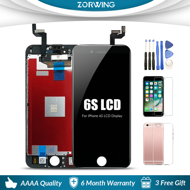 AAA+ Quality  LCD Screen For iPhone 6 6S 7 8 Plus Display Digitizer Touch Screen For iPhone6S 5s XR X XS MAX LCD Screen Assembly