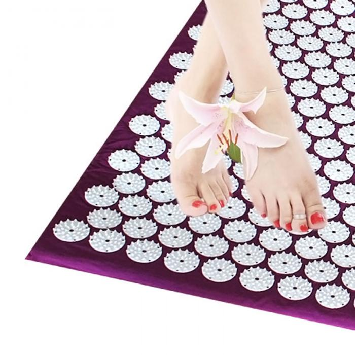 Massage Cushion Acupressure Mat Relieve Stress Pain Acupuncture Spike Yoga Mat with Pillow/ Without Pillow YF17 3