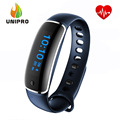 LYNWO M4 Health Smart Bracelet Dynamic Heart Rate Blood Pressure Monitor Sleep Tracker Call SMS APP Noification Reminder