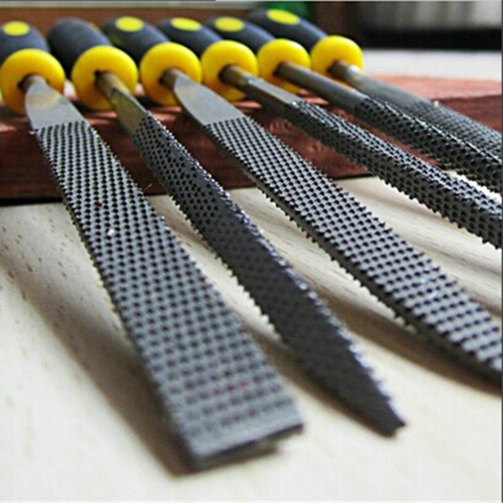 Werkzeuge 4 In 1 Mini Set Werkzeuge Diy Legierung Platz Flache Halbe Runde Füllung Nadel Holzbearbeitung Holz Carving Dateien Raspel Holz