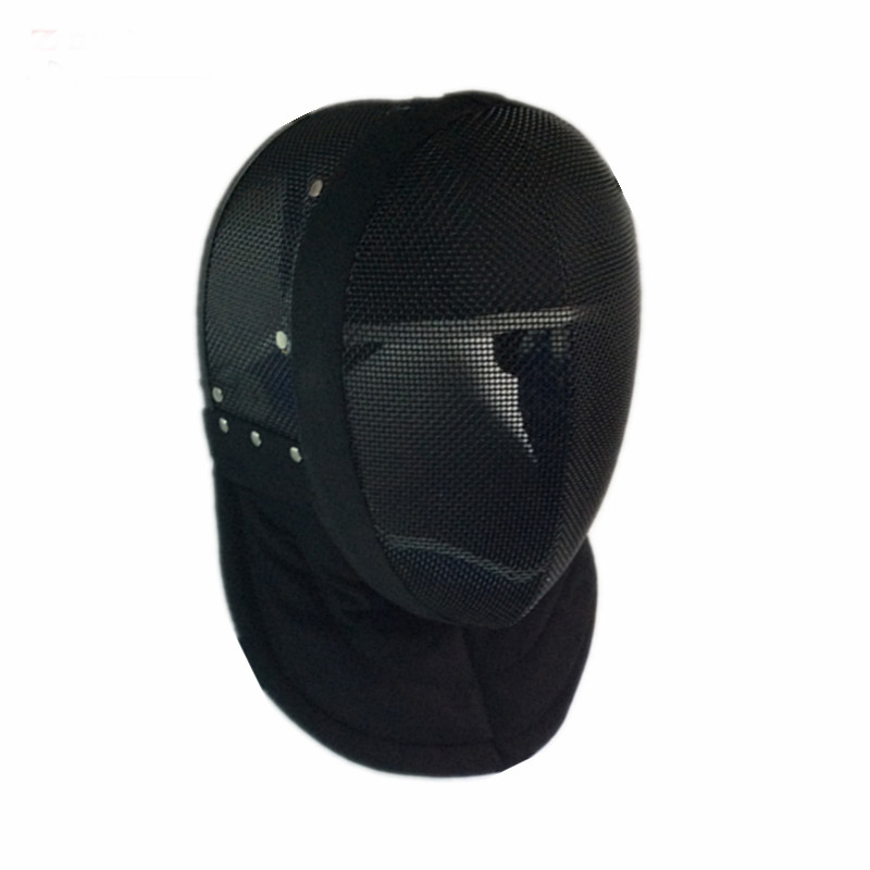 CE Approval Black Color Fencing Equipments Fencing Mask 350NW Removable Lining Masks