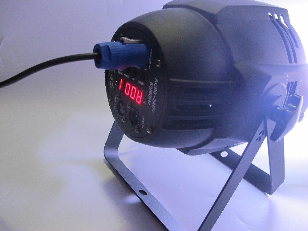 где купить 54x3W Aluminum Led Par Light Indoor IP20 RGBW Single Color 25 Degree Lens 200W 4/8CH 90V-220V по лучшей цене