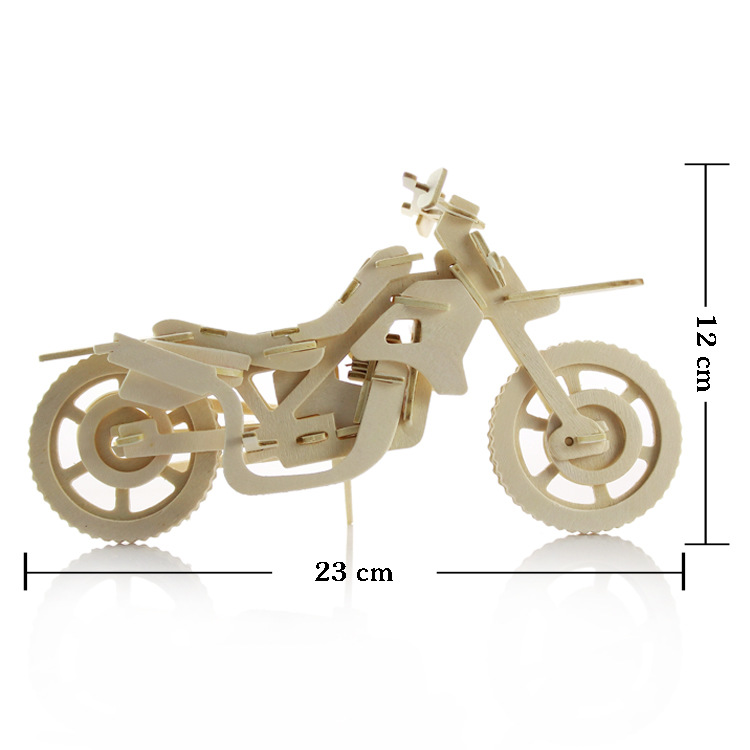 Руководство головоломки деревянный модель 3D Паззлы для детей 3d