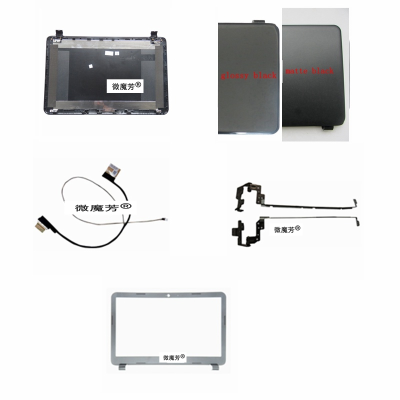 New Laptop Top LCD Back Cover for HP 15-G 15-R 15-T 15-H 15-Z 15-250 15-R221TX 15-G001XX 15-G010DX 250 G3 255 G3 15-G074NR N2815 ismaya 15 khalid