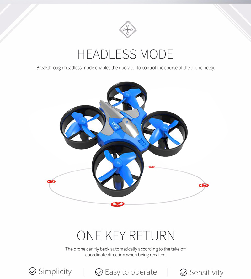Global Drone Quadrocopter Micro Drone 6 Axis Gyro 4CH RC Helicopter Headless Mode Pocket Dron Toys For Boys Mini Drone (5)