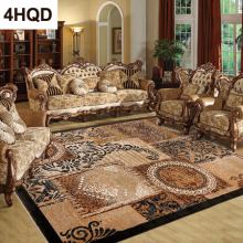 купить Classic Vintage European Style Carpet Fashionable Living Room Coffee Table Bedroom Modern European Style Bedside Carpet онлайн