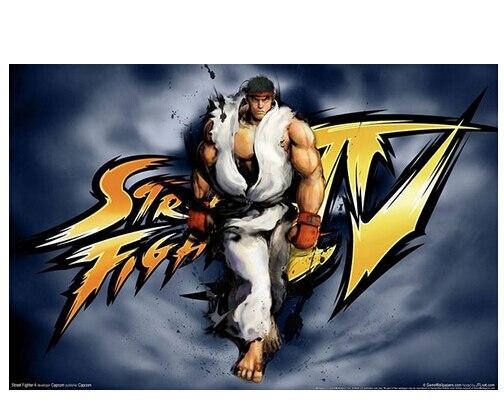 R$ 20 64 |Sala 27 x 40 cm adesivos de parede Street Fighter 2 4 jogo de  parede Poster decorativa em Adesivos de parede de Home & Garden no