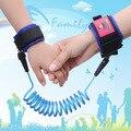 1 pic 1.5 M cuerda anti-perdida de protección de Protección de suministros de seguridad para niños anti-perdidos pulsera del estiramiento de los niños Bebé reloj TXB18