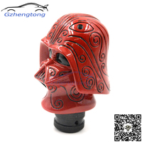 Universal Car Gear Shift Knob Auto Red Star Wars Darth Vader Wicked Carved Manual Transmission Stick