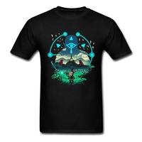 The Legend Of Zelda Wild Adventurer T Shirt Big Size Short Sleeve Custom Hipster Streetwear Cotton