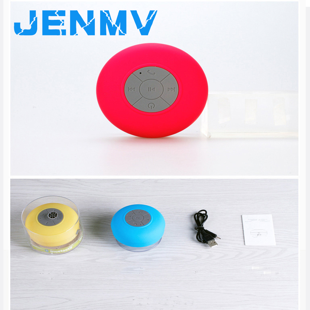 Portable Mini Multicolor Wireless Waterproof Mini Bluetooth Speaker  Bathroom Speaker Audio Receiver Support Phone Answering(