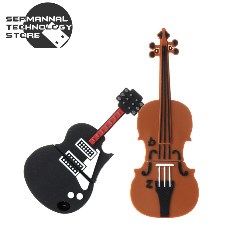usb flash drive Musical instrument Violin 4b 8g 32g 64g u disk memory USB stick pen drive pendrive For PC with