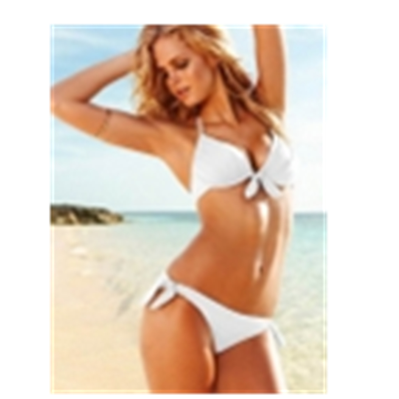 Summer Push Up Swimsuit Womens Solid Color Bikini Top M5293A Wholesales price