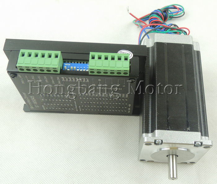 Quality Assurance CNC 1 Axis kit, ST-M5045 stepper Motor driver replace M542,2M542 + Nema23 425 Oz-in stepper motor quality assurance in textbook development