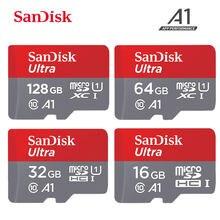 Sandisk – carte Micro SD, 16 go/32 go/64 go/100% go/128 go/512 go/256 go, classe 10, TF, pour smartphone