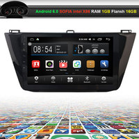 10.2 inch Car Video Audio Player for Volkswagen VW Tiguan 2017 with GPS Navigation Bluetooth Wifi (NO DVD)