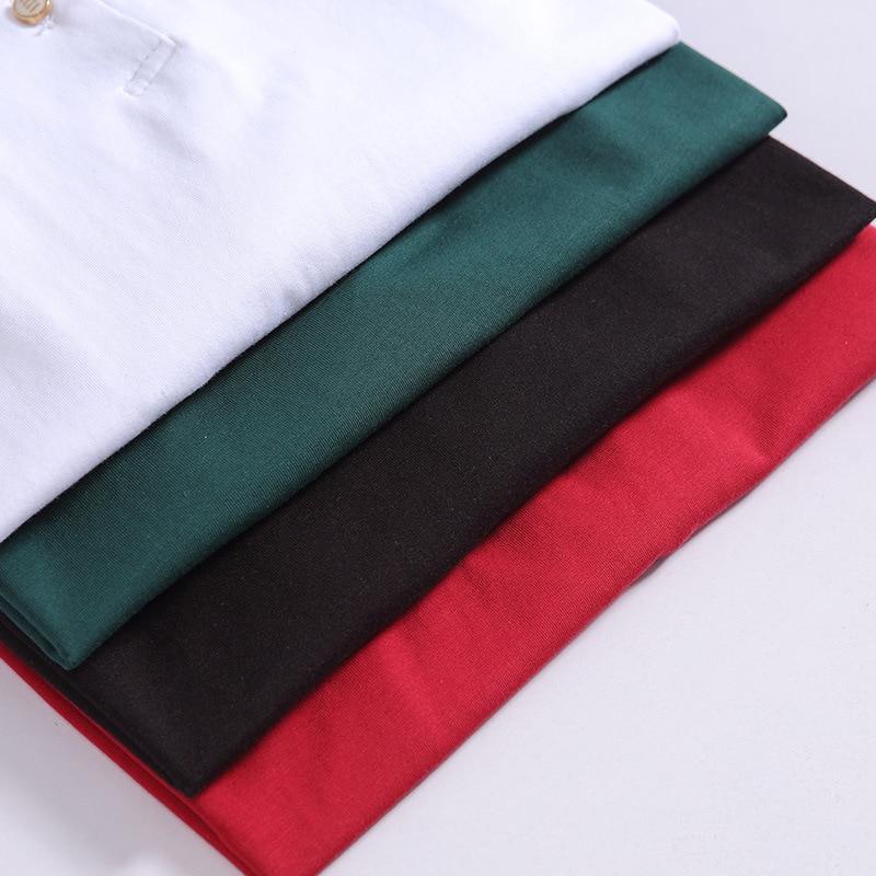 E Maniche A Camicette Calda Alta Moda Gira Il Autunno verde T Lunghe Nuovo Imbottiture Donne rosso Di Magliette Allentato Cotone Femminile Nero Colletto Vendita Casual 2018 Button Camicia bianco 6gO1Oq